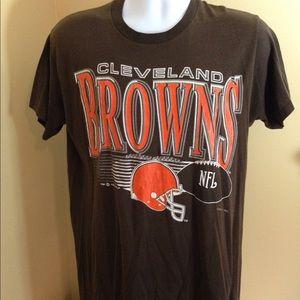Vintage Cleveland Browns '92 Tshirt Sz L